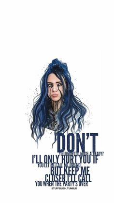 Best Billie Eilish Quotes That Will Flex Human's MindShe is the young girl and began her career with singing. Billie Eilish quotes gained lots of popularity Song Lyrics Wallpaper, Music Wallpaper, Cartoon Wallpaper, Screen Wallpaper, Billie Eilish, Six Feet Under, Best Song Lyrics, Best Songs, Photo Book