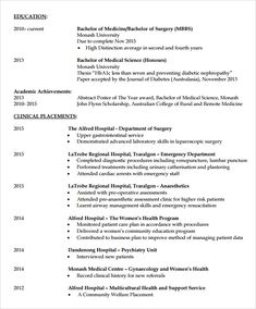 doctor resume template free. Resume Example. Resume CV Cover Letter