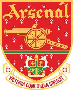 Arsenal Football Club | Country: England, United Kingdom. País: Inglaterra, Reino Unido. | Founded/Fundado: 1886 | Badge/Escudo: 2001 - 2002.