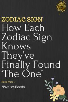 How Each Zodiac Sign Knows They've Finally Found 'The One' – Twelve Feeds Sagittarius Man In Love, Pisces Lover, Scorpio Men, Pisces Woman, Leo Men, Libra Zodiac Facts, Aquarius Facts, Zodiac Quotes, Capricorn Traits