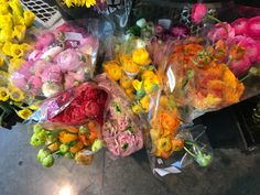 Ranunculus at Whole Foods in Buckhead on 3/20/2016