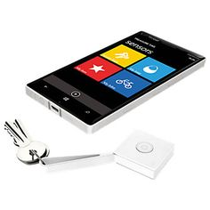 Nokia Treasure Tag - key fob that ensures you never lose your keys again, even with a non-Nokia phone