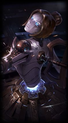 New Orianna Splash Art