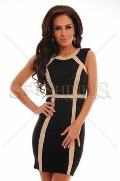 Pompous Radiance Black Dress
