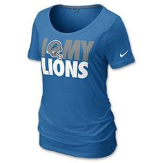 Nike Detroit Lions @Amy Teeters Thought of you baby girl! MISSSS YOUUU!