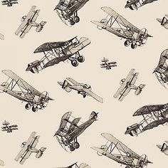 Vintage Print Ww1 Aeroplanes Aircraft Illustration Boys