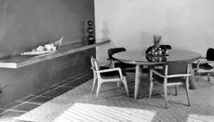 Muebles diseñados por Clara Porset -    Furniture designs by Clara Porset