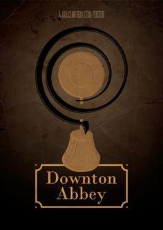 Downton Abbey - Minimal Poster