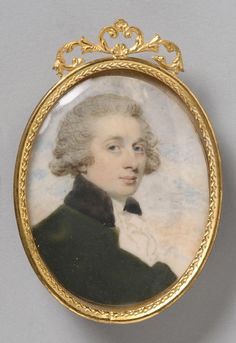 Edward Miles Portrait of a Man, c. 1790 Watercolor on ivory 2 x 1 inches x 4 cm) Accession Number: Credit Line: Gift of W. Parsons Todd and Miss Mary J. Todd, 1938 Philadelphia Museum of Art Miss Mary, Mary J, Miniature Portraits, Philadelphia Museum Of Art, Small Art, 18th Century, Watercolour, Mona Lisa, British