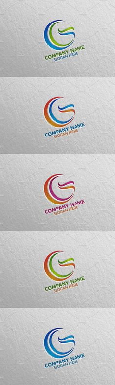 Vector Logo Design, Letter G, Logo Templates, Icon Design, Slogan