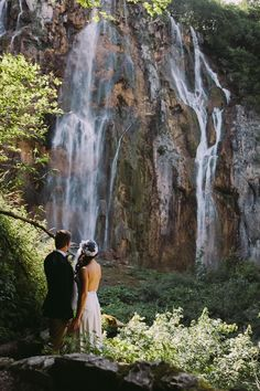 Plitvice National Park Elopement Croatia | Fly Away Bride