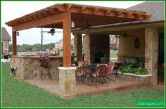 author gladys comments outdoor kitchen pergola ideas weber gas grills surrounded diy cedar storage units quite