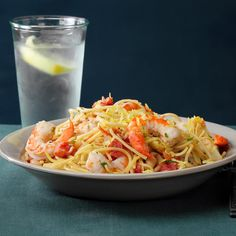 Looking for seafood recipes? Try one of these favorite dishes like shrimp pasta, seafood casseroles, crab cakes, scallop recipes and more dinner ideas. Shrimp Recipes, Pasta Recipes, Gourmet Recipes, Cooking Recipes, Healthy Recipes, Cooking Gadgets, Cooking Ideas, Drink Recipes, Taste Of Home