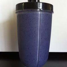 Oh so yummy blueberry vanilla protein shake. Try it today! 1 cup of frozen blueberries, 1 packet Arbonne Essentials Vanilla protein powder, 1.5 cups almond milk. - let me know if interested in the amazing vegan protein powder!