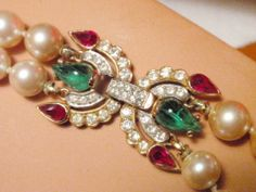 """Exceptional Trifari Moghul """"Jewels of India"""" Necklace RARE Collectors Beauty   eBay"""