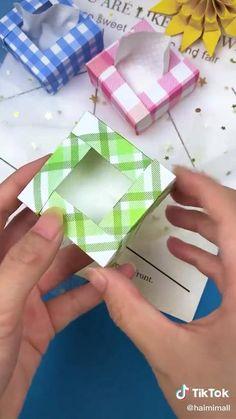 Cool Paper Crafts, Paper Crafts Origami, Diy Paper, Fun Crafts, Diy Crafts Hacks, Diy Crafts For Gifts, Diy Arts And Crafts, Instruções Origami, Oragami