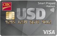 CIBC Smart Prepaid Travel Visa Card