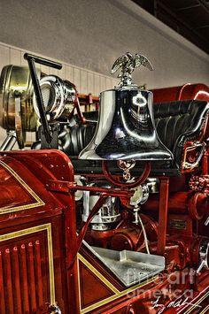 American La France Pumper 2 Photograph  - American La France Pumper 2 Fine Art Print