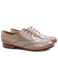 Derby Schuhe Sally 2 Salerno Pale Rose Sand LS Natural