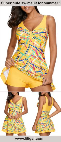 swimming pool, beach, show your style, show your love, focal of the crowd. Cool Outfits, Summer Outfits, Fashion Outfits, Womens Fashion, Ropa Interior Boxers, Swim Dress, Mellow Yellow, Summer Wear, Plus Size Outfits