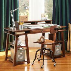 Customize-It Simple Trestle Desk | PBteen