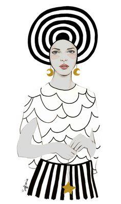 Pippa Art Print by Sofia Bonati | Society6