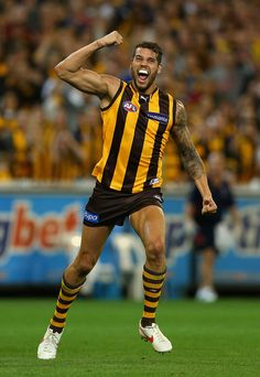 Lance Franklin Photos Photos: AFL First Prelimnary Final - Hawthorn v Adelaide Pictures Of The Week, Parental Advisory, Sports Pictures, Hawks, Poses, Running, Hot, Figure Poses, Peregrine