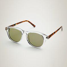 eu.Fab.com   Timeless Sunglasses Clear Amber