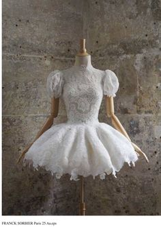 This reminds me of a baby doll dress. I just wanna try it on.