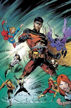 #Teen #Titans #Fan #Art. (TEEN TITANS #66) By: Eddy Barrows. (THE * 5 * STÅR * ÅWARD * OF: * AW YEAH, IT'S MAJOR ÅWESOMENESS!!!™)