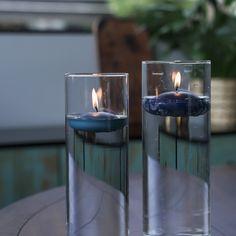 Prehistoric Tea Light Candles Set of 8  Easter  Spring  Valentines Day