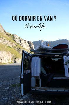 Où dormir en van ? #vanlife #campervan #van