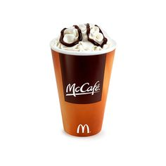 Have you tried the Peppermint Mocha from McDonald's? ❤ liked on Polyvore featuring food, drinks, etc, comida, food & drink and filler