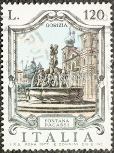 POSTAGE STAMPS: Italian Postage Stamp