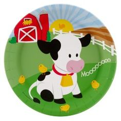 cow birthday supplies for toddler | ... birthday celebration with these barnyard 1st birthday party supplies