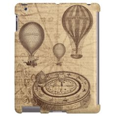 Love these vintage balloons and compass. Not as keen on the map because that's so overdone at the minute