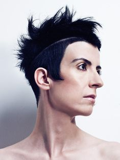 A very avant-garde mohawk from Wip-Hairport Salon. Not everything they do is my cup of tea, but if I'm ever in Lisbon I'm totally getting a weird haircut there.