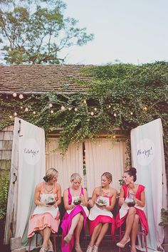 bridesmaid luncheon terrarium DIY // photo by Jacquelyne Mae Photography // View more: http://ruffledblog.com/bridal-shower-luncheon-inspiration/