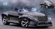 PT Cruiser photoshop by MarkGreenmantle