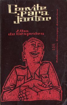 Convite para Jantar - Alba de Céspedes | Capa de António Domingues
