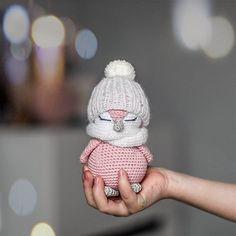 Crochet Amigurumi Free Patterns, Christmas Crochet Patterns, Crochet Animal Patterns, Stuffed Animal Patterns, Crochet Dolls, Doll Patterns Free, Crochet Animal Amigurumi, Amigurumi Toys, Kawaii Crochet