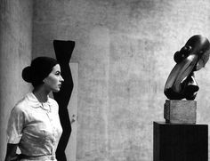 Silvana Mangano at the Museum of Modern Art, 1956 by Eve Arnold