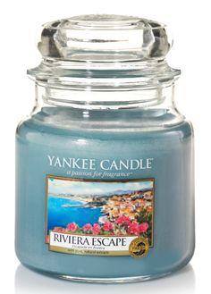Escapade sur le Riviera - Bougie parfumée moyenne jarre - Yankee Candle