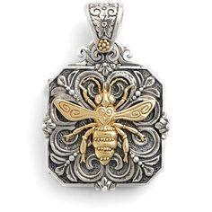 Women's Konstantino 'Penelope' Bee Locket Pendant