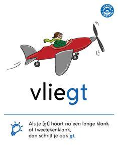 Learn Dutch, Dutch Words, Dutch Language, Home Schooling, Grammar, Einstein, Abs, Letters, Teaching