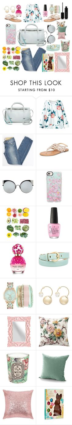 """""""Spring 🌸 Feels 🌸"""" by pulseofthematter ❤ liked on Polyvore featuring Botkier, Paige Denim, Dorothy Perkins, Fendi, Casetify, OPI, Marc Jacobs, Salvatore Ferragamo, Jessica Carlyle and Witchery"""