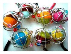 Custom Atomic Ball keychain, phone charm, bag decoration, favor by iammie, $10.00