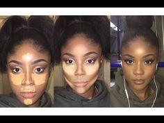 eye makeup tips Black Girl Makeup, Girls Makeup, Love Makeup, Beauty Makeup, Makeup Case, Maquillage Black, Maquillage Yeux Cut Crease, Make Up Looks, Contour Makeup