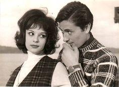 """Hülya Koçyiğit Cüneyt Arkın ile """"Ayşecik Çıtı Pıtı Kız""""(1964)"""