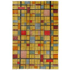 Turkish Mid-Century Modern | From a unique collection of antique and modern turkish rugs at http://www.1stdibs.com/furniture/rugs-carpets/turkish-rugs/
